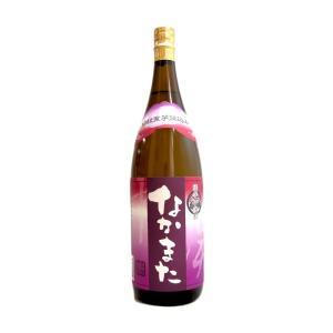 頴娃紫芋仕込み なかまた 1800ml (芋焼酎/鹿児島県/中俣合名会社)|ono-sake