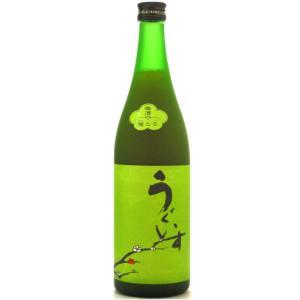 庭のうぐいす(にわのうぐいす) 特撰梅酒 うぐいすとまり 鶯とろ 720ml (日本酒/福岡県/山口酒造場)|ono-sake