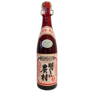 お酒 明るい農村(あかるいのうそん) 赤芋熟成古酒 720ml (芋焼酎/鹿児島県/霧島町蒸留所)|ono-sake
