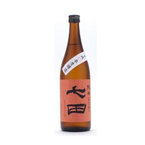 七田(しちだ) 純米 七割五分 無濾過 720ml (日本酒/佐賀県/天山酒造)|ono-sake