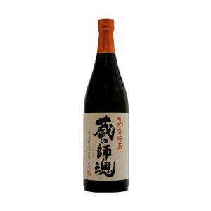 蔵の師魂(くらのしこん) かめ壺貯蔵 芋焼酎 25°720ml (芋焼酎/鹿児島県/小正醸造)|ono-sake