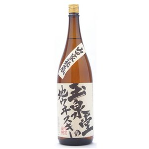 玉泉堂の地ウイスキー(ぎょくせんどうのじういすきー) 37°1800ml|ono-sake