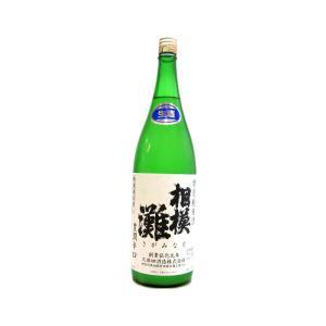 相模灘(さがみなだ) 豊潤辛口 特別純米酒 無濾過 おりがらみ本生 1800ml(要冷蔵) (日本酒/神奈川県/久保田酒造)|ono-sake