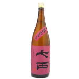 七田(しちだ) 愛山 七割五分磨き ひやおろし 1800ml (日本酒/佐賀県/天山酒造)|ono-sake