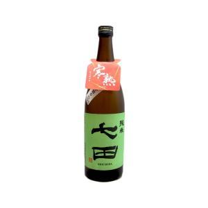七田  (しちだ)  純米寒熟  (生熟成)   720ml  (要冷蔵)   (日本酒/佐賀県/天山酒造)   お酒|ono-sake
