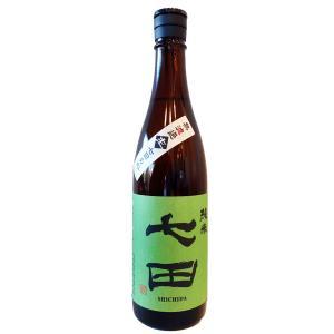 七田(しちだ) 純米 無濾過 生 七田の心 720ml (要冷蔵) (日本酒/佐賀県/天山酒造)|ono-sake