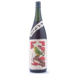月ヶ瀬の梅原酒  (つきがせのうめげんしゅ)   1800ml花札シリーズ お酒|ono-sake