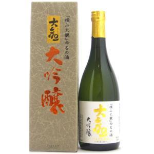 お酒 2018 大観(たいかん) 大吟醸 720ml (日本酒/茨城県/森島酒造)|ono-sake