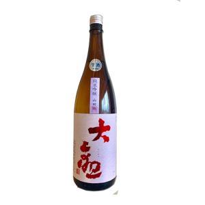 お酒 大観(たいかん) 純米吟醸 山田錦 無濾過生原酒 1800ml(要冷蔵) (日本酒/茨城県/森島酒造)|ono-sake