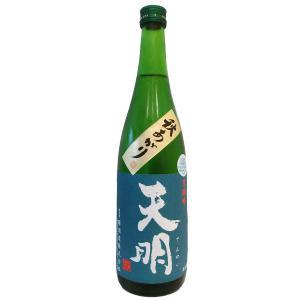 日本酒 ギフト 天明(てんめい) 美山錦 純吟生 秋あがり 720ml(要冷蔵) (日本酒/福島県/曙酒造)|ono-sake