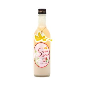 Snowdrop  (スノードロップ)  宮袋いちご360ml  (要冷蔵)    (日本酒/福島県/曙酒造)   お酒|ono-sake