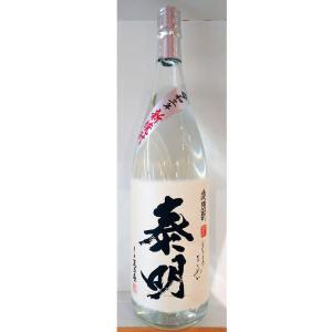 特蒸泰明 新焼酎 25° 麦焼酎 1800ml (麦焼酎/大分県/藤居醸造)|ono-sake
