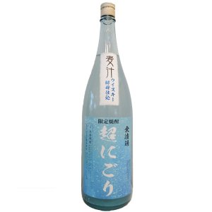 麦汁(むぎしる)超にごり麦焼酎25°1800ml(麦焼酎/熊本県/豊永酒造) お酒|ono-sake