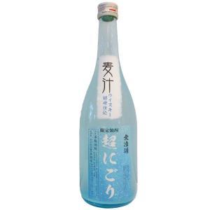 麦汁(むぎしる)超にごり麦焼酎25°720ml(麦焼酎/熊本県/豊永酒造) お酒|ono-sake