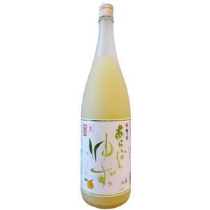クールゆず 生 1800ml 柚子酒 夏季限定(要冷蔵)|ono-sake