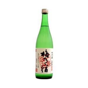 梅乃宿(うめのやど) 純米吟醸生原酒 一番汲み 720ml(要冷蔵) (日本酒/奈良県/梅乃宿酒造)|ono-sake