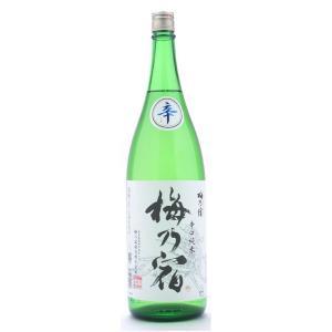 梅乃宿  (うめのやど)  純米辛口辛  (しん)   1800ml純米三酒シリーズ  (日本酒/奈良県/梅乃宿酒造)   お酒|ono-sake