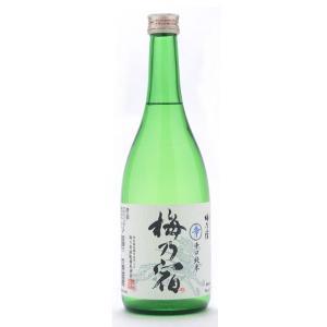 梅乃宿  (うめのやど)  純米辛口辛  (しん)   720ml純米三酒シリーズ  (日本酒/奈良県/梅乃宿酒造)   お酒|ono-sake