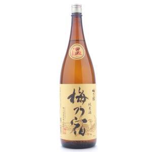 梅乃宿  (うめのやど)  純米酒温  (おん)   1800ml純米三酒シリーズ  (日本酒/奈良県/梅乃宿酒造)   お酒|ono-sake