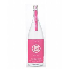 丸西(まるにし) 紅いもにごり 25°1800ml (芋焼酎/鹿児島県/丸西酒造)|ono-sake