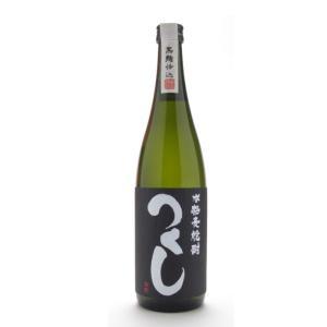 つくし 黒麹仕込み 黒ラベル 720ml (麦焼酎/福岡県/西吉田酒造)|ono-sake