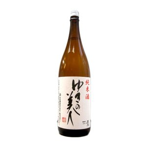 ゆきの美人(ゆきのびじん) 純米 1800ml (日本酒/秋田県/秋田醸造)|ono-sake