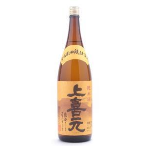 上喜元(じょうきげん) もち米四段 おかん純米 1800ml (日本酒/山形県/酒田酒造) ono-sake