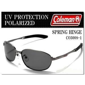 送料無料 Coleman コールマン 偏光レンズ スポーツサングラス UVカット CO3008 ガン オープン記念|onokonoshop