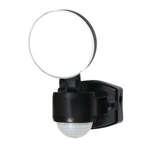 屋外用LEDセンサーライト AC電源 1灯 IP44 防沫形 ELPA ESL-SS411AC (E...