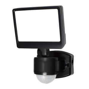 屋外用LEDセンサーライト AC電源 1灯 IP44 防沫形 ELPA ESL-SS421AC (E...