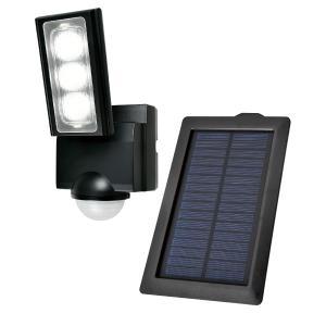 屋外用LEDセンサーライト ニッケル水素充電池 1灯 IP45 防噴流形 ELPA ESL-311S...