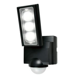 屋外用LEDセンサーライト 単一形アルカリ乾電池 1灯 IP45 防噴流形 ELPA ESL-311...
