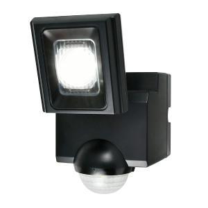 屋外用LEDセンサーライト 単一形アルカリ乾電池 1灯 IP44 防沫形 ELPA ESL-N111...