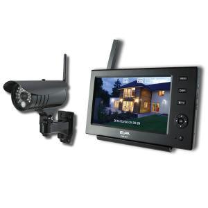 ワイヤレスカメラ スマートフォン対応 IP66 耐水型 ELPA CMS-7110 (CMS7110...