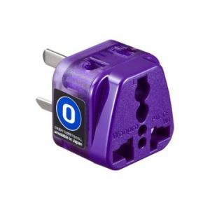 海外電源変換アダプタ エレプラグW-O アース付き (オーストラリア・中国) TR-AD16 (TRAD16) サンワサプライ|onolighting-shop|02