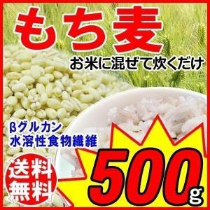 セール もち麦 大麦 もちむぎ 500g×1袋 βグルカン ...