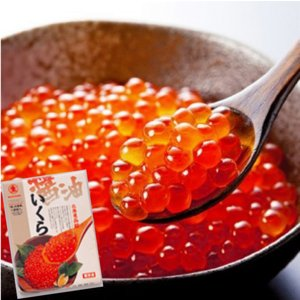北海道函館いくら醤油漬500g onozaki