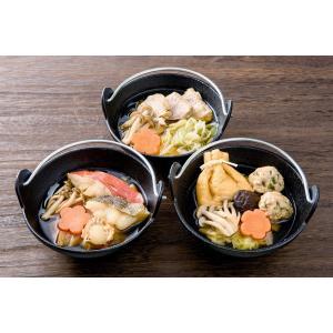 レンジで簡単!おのざきオリジナル!海鮮ひとり鍋セット!3種類×2セット入り|onozaki