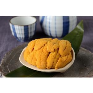 うに貝焼 ホッキ貝の殻の上に岩手県種市産うに約3〜4ヶ分を山盛りにして、蒸し焼きにしました!|onozaki