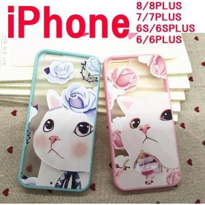 iphone6s ケース 猫 かわいい iPhone6 ケース キャラクター ネコ iphone6s plus アイフォン iphone ケース ねこ アイフォン 新商品 スリム 薄くて丈夫|onparade