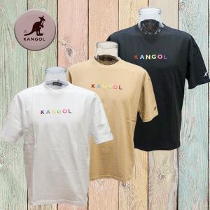 e14cfafead2ae 9273-0042 カンゴールTシャツ kongol ハーフスリーブTシャツ カラーロゴ刺繍