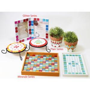 ガラス モザイク タイル バラ  8色MIX 大容量 600g 600ピース以上 DIY ハンドメイド クラフト オリジナル 手作り 10mm角|onyx-jp|02