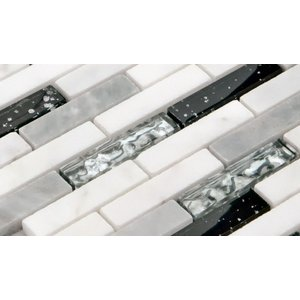 [シールタイプ】ガラス・大理石モザイクタイルSTR-1008S◆デザイン豊富 9 種類◆ (1シート)305×318×8mm|onyx-jp|04