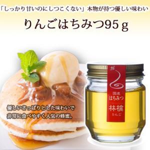 リンゴハチミツ95g|ooba-beekeeping