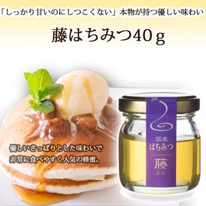 藤ハチミツ40g ooba-beekeeping