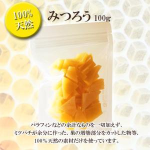 みつろう 100g|ooba-beekeeping