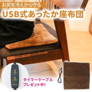 あったかグッズ USB クッション 電気 座布団 ホットクッション ヒーター  USB暖房 USBウォーマー あったか 冬物