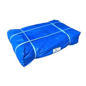 ブルーシート #3000シート 5.4m×7.2m 5枚組 厚手ブルーシート 送料無料