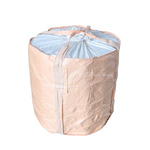 コンテナバッグ 丸型 10枚 バージン原料100%  送料無料 フレコンバック フレコンバッグ トンバック|oochi-works