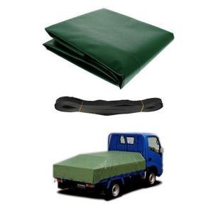 エステル帆布シート 2.66m×4.6m 2Tトラック トラックシート 送料無料|oochi-works